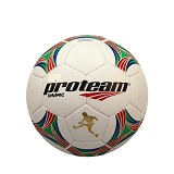 PROTEAM Bola Soccer Size 4 [Dynamic] - Red/Green